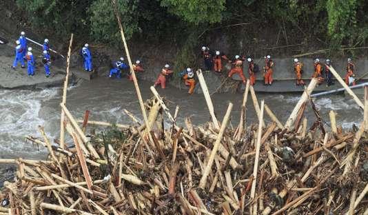 سیل ویرانگر در ژاپن ناشی از مدیریت نامناسب جنگل ها